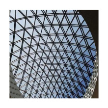 Hot sale tempered double bullet proof glass curved glass skylight