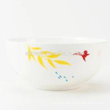 diseño personalizado de cuenco de sopa de cerámica fina