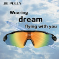 Jiepolly Outdoor Sport Riding Sunglasses Tactical Airsoft Safety Goggles