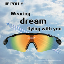 Lunettes de Sport en plein air Jiepolly lunettes de soleil tactique Airsoft sécurité d'équitation