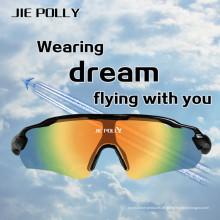 Jiepolly esporte ao ar livre, montando segurança de Airsoft táctico de óculos de sol óculos