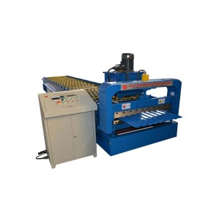 wide style rolling shutter door roll forming machine