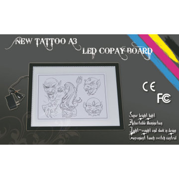 New LED A3 Touch Switch Tracing Adjustable Tattoo Copy Board