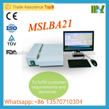 MSLBA21M High quality Protable Semiautomatic biochemistry analyzer work with computer