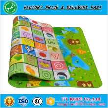 Double Sides Customized Baby Crawl Children Toy Play Mat Epe Foam Puzzle Mat