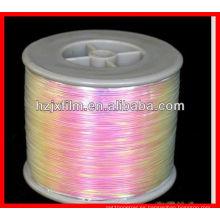 Película del arco iris del ANIMAL DOMÉSTICO / hilado iridiscente