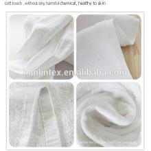 Serviette de bain 100% coton super doux en satin pour 3 à 5 étoiles en gros