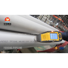 Stainless Steel Welded Pipe SUS316L For Shipbuilding