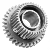 metal double straight spur gear for transmission