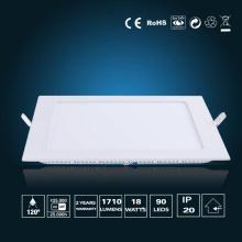 Luz de painel de LED 18W 220 * 220 * 16mm