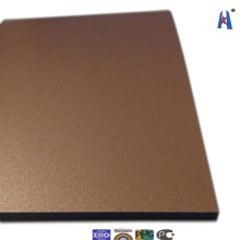 Panel recubierto de aluminio de aluminio Xh006