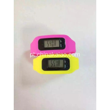 Silicone Watch Strap Step Calorie Time Calcular