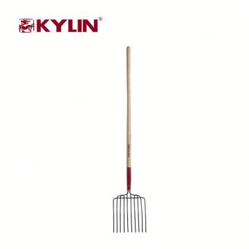 Best Selling Wooden Handle Garden Tool Digging Garden Fox Fork