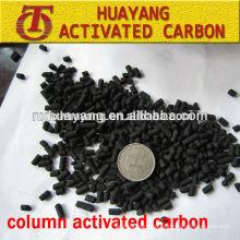 Filling Density 0.48g/cm3 coal based column activated carbon for sale