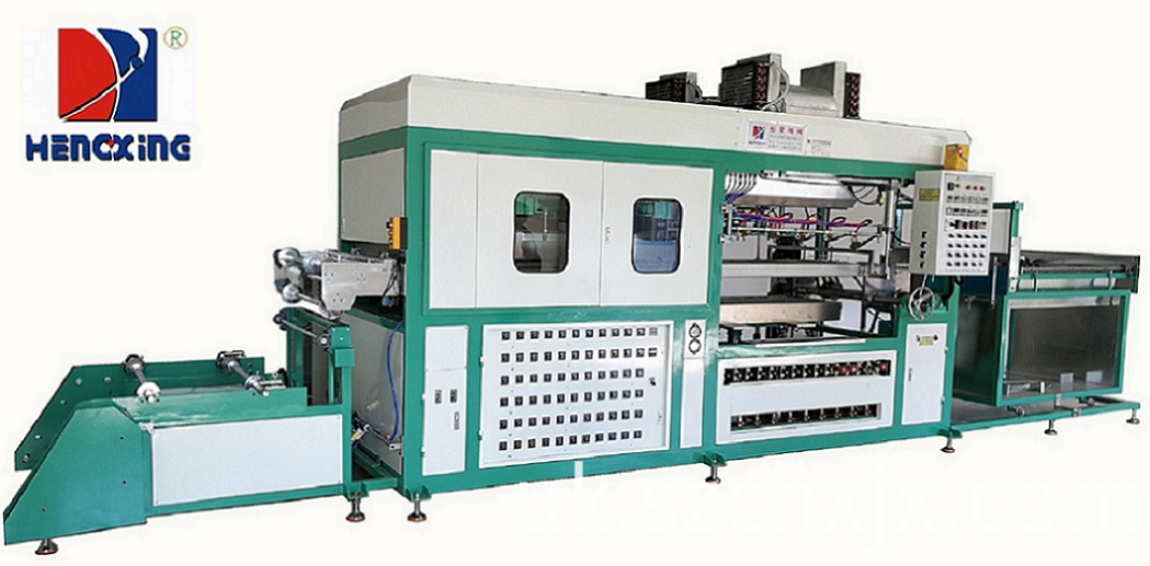 Custom made automatic blister vacuum thermo forming machine