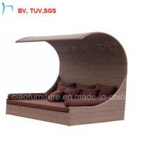 Patio jardin en osier chaise moderne Sun Lounge (S-3051)