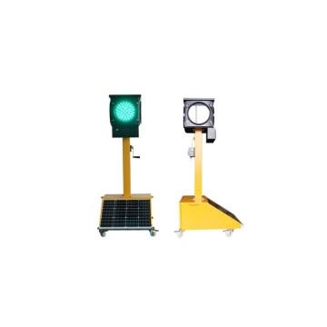 Светодиодный солнечный портативный четырехсторонний светодиодный светофор