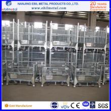 Spitzenverkaufs-industrieller logistischer mittlerer faltbarer Draht-Behälter / Kasten für Lagerung