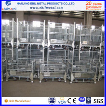 Steel Flod Wire Mesh Box -Pallet Type