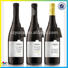 best selling superior service wine label