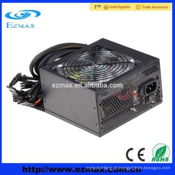 Dongguan fábrica 80plus computador fonte de alimentação 600w