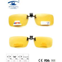 Yellow Driver Sunglasses Polarized Clip on Sunglasses