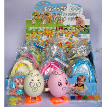 Paintable Egg with Candy (90511)