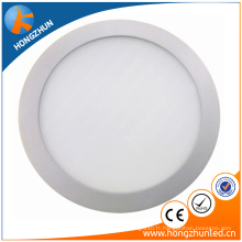 China manufaturer CE ROHS approuvé rond led panneau de lumière Ra> 75 2 ans de garantie