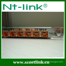 New item Netlink 0.5u cat6a unloaded patch panel