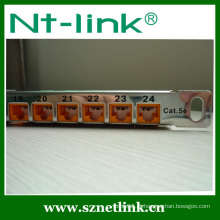 Novo item Netlink 0,5u cat6a descarregado patch panel