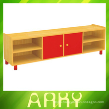 Kindergarten Furniture Children Wooden TV Cabinet