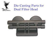 La inyección de aluminio a presión los componentes de fundición para la cabeza de filtro dual