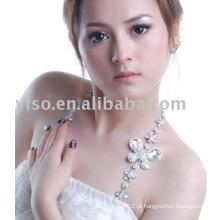 Sutiã elegante em jóias com strass