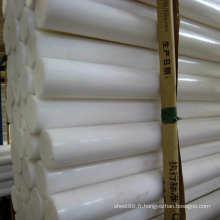 Feuille / barre en plastique d'usine de blanc d'ingénierie POM