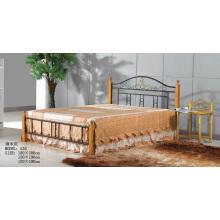 Горячая продавать новую конструкцию простую стальную кровать (535 #)
