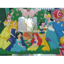 Meistverkaufte Produkte PVC-Rahmen, Liebe Foto Gummirahmen, 3D Weihnachts Fotorahmen