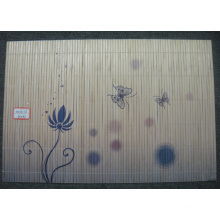(BC-M1029) Handmade Natural Bamboo Rectangle Heat Insulation Placemat