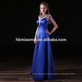 satin long design bridesmaid dress patterns sexy deep v neck and high split royal blue bridesmaid dress for wedding
