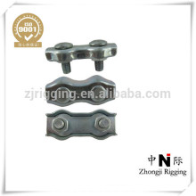 Zinc plated made in china supplier duplex wire rope clip