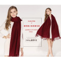 2107 factory prices excellent quality custom women's cashmere knitted scarf