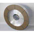 Ruedas abrasivas de diamante y CBN de enlace vitrificado (6A2, 1A1W)
