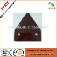 Claas peças sobressalentes claas corte lâmina claas faca guarda classe corrente dentada