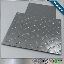 Aluminium Checkered Plate Embossed Five Bar Tread Sheet