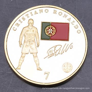 Die ganze Welt Regional Feature Kundenspezifische Münzen Euro Craft Supply