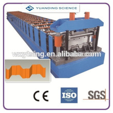Pass CE and ISO YTSING-YD-1215 Automatic Corrugated Roof /Floor Decking Roll Forming Machine