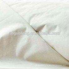 Le meilleur tissu fait sur commande de tissu de coton de polyester de pop-corn tc égyptien pour chemise 45 * 45 133 * 72 110 tissu de chemise de teinture de GSM