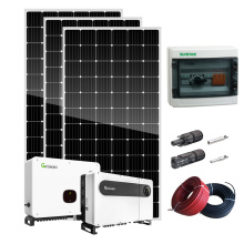 Hocheffizientes 5-kW-Solarkit für alternative Energie