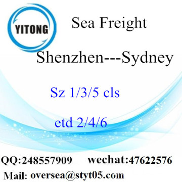 Shenzhen Port LCL Consolidamento A Sydney