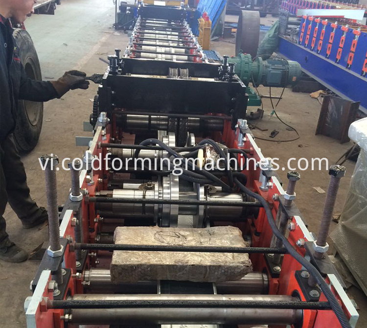 door frame roll forming machine