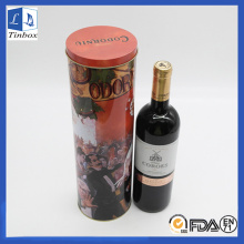 Single Serve Wine Bottle Metal Box